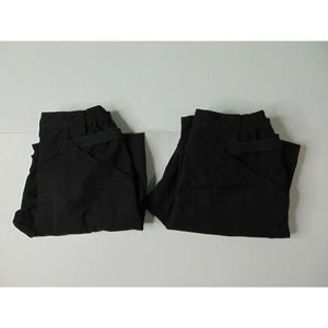 Lot Of 2 5.11 Tactical 34x32 Black Cargo Work Pant